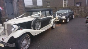 wedding cars galway bentley and vintage car
