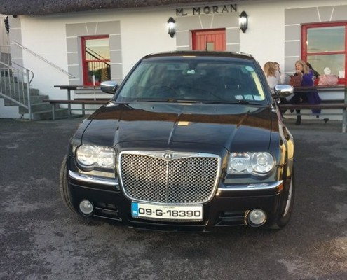 Moran's of the Weir Wedding Car