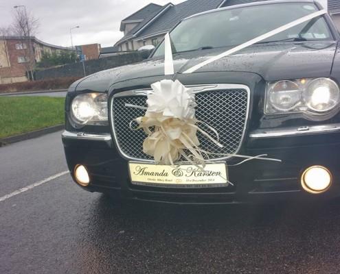 Mr & Mrs Custom Wedding Car Plates